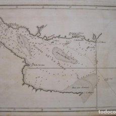 Arte: MAPA DEL RÍO DE LA PLATA ( ARGENTINA-URUGUAY), 1790. PHILIPPE DE PRÉTOT. Lote 230814575