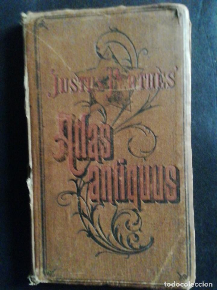 JUSTUS PERTHES. ATLAS ANTIQUUS DER ALTEN WELT. 1893 (Arte - Cartografía Antigua (hasta S. XIX))