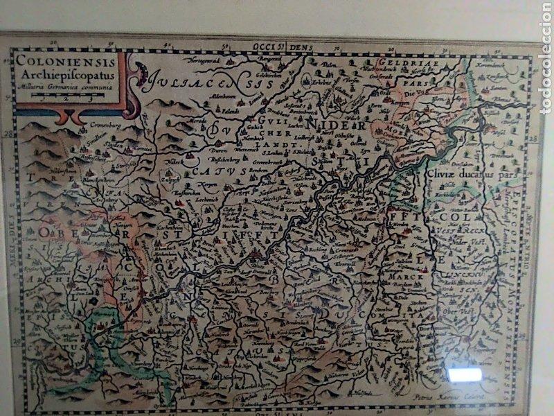 COLONIENSIS ARCHIEPIFCOPATUS (COLONIA-ALEMANIA). ANTIGUO IMPERIO ESPAÑOL SIGLO XVII (Arte - Cartografía Antigua (hasta S. XIX))