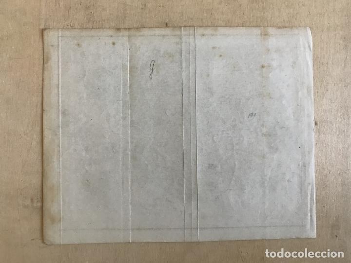 Arte: Mapa de España y Portugal y plano de Madrid, ca. 1840. H. Bornmüller - Foto 9 - 233275385