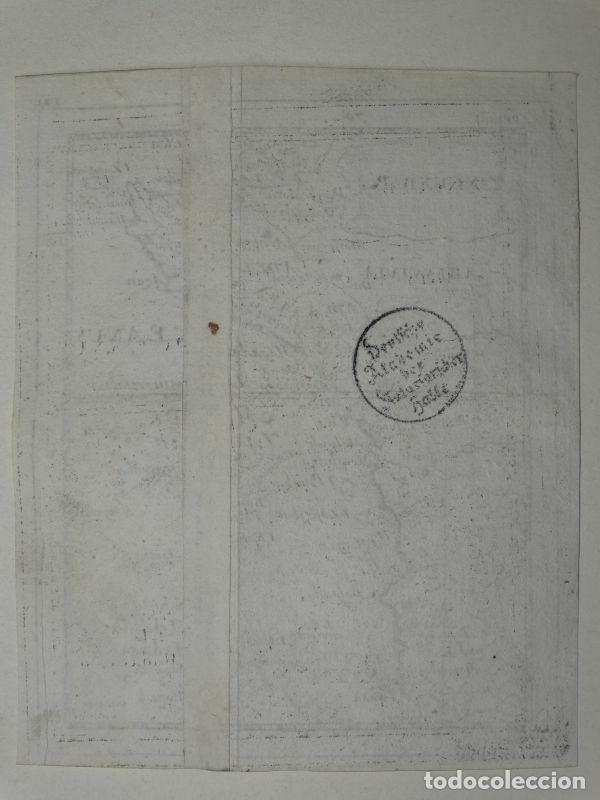 Arte: Mapa de parte oriental de África, 1690. Pierre du Val - Foto 4 - 233501605