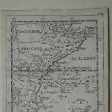 Arte: MAPA DE PARTE ORIENTAL DE ÁFRICA, 1690. PIERRE DU VAL. Lote 233501605