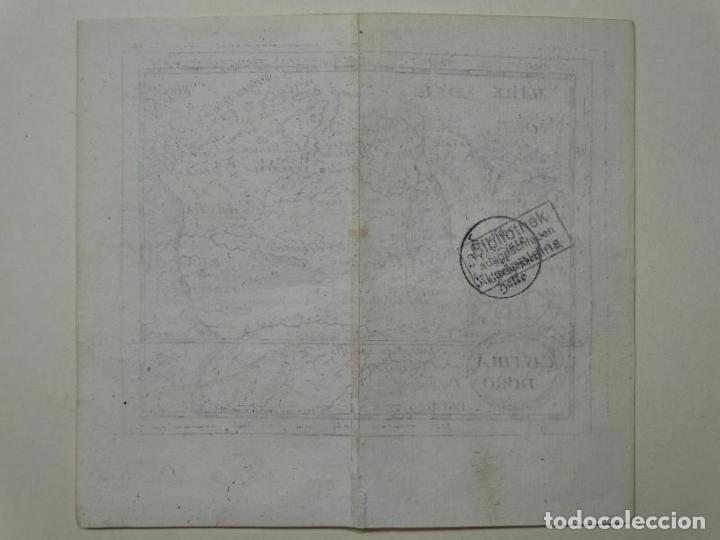 Arte: Mapa del norte de Colombia y Venezuela (América del sur), 1690. Pierre Du Val - Foto 6 - 233576085