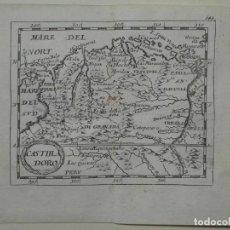 Arte: MAPA DEL NORTE DE COLOMBIA Y VENEZUELA (AMÉRICA DEL SUR), 1690. PIERRE DU VAL. Lote 233576085