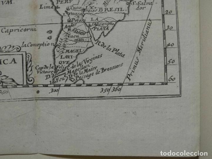 Arte: Mapa de América del norte, centro y sur, 1690. Pierre Du Val - Foto 2 - 233579310