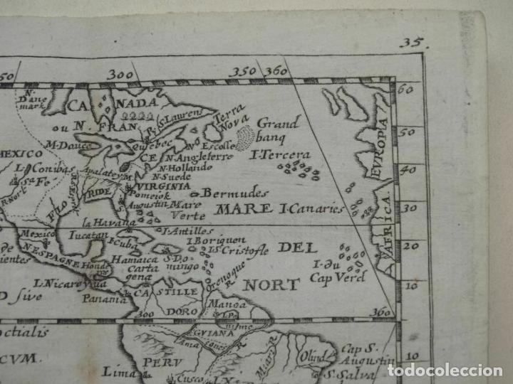 Arte: Mapa de América del norte, centro y sur, 1690. Pierre Du Val - Foto 3 - 233579310