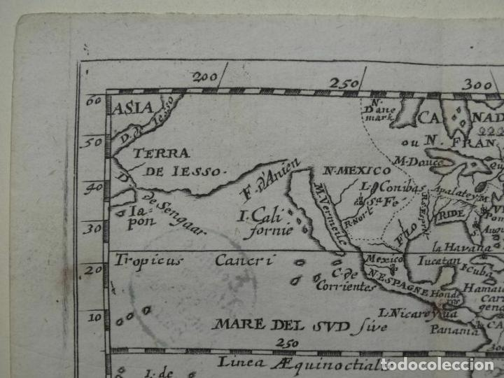 Arte: Mapa de América del norte, centro y sur, 1690. Pierre Du Val - Foto 4 - 233579310