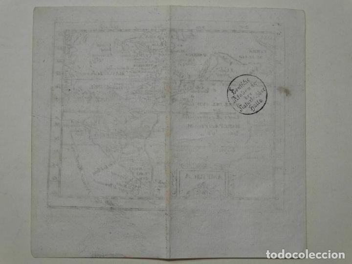 Arte: Mapa de América del norte, centro y sur, 1690. Pierre Du Val - Foto 7 - 233579310