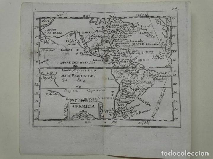 MAPA DE AMÉRICA DEL NORTE, CENTRO Y SUR, 1690. PIERRE DU VAL (Arte - Cartografía Antigua (hasta S. XIX))