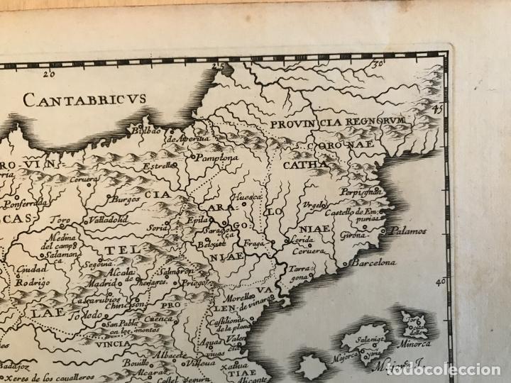 Arte: Hispania Augustiniana. Mapa de Portugal y España, 1659. Augustín Lubin/Petrus Baudouin - Foto 4 - 233713835