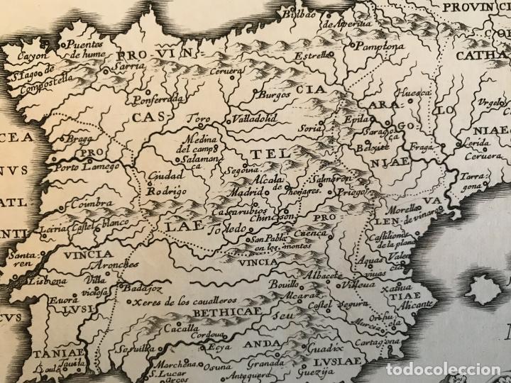 Arte: Hispania Augustiniana. Mapa de Portugal y España, 1659. Augustín Lubin/Petrus Baudouin - Foto 8 - 233713835
