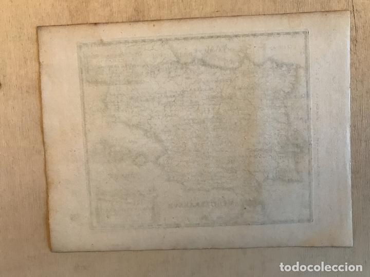 Arte: Hispania Augustiniana. Mapa de Portugal y España, 1659. Augustín Lubin/Petrus Baudouin - Foto 9 - 233713835