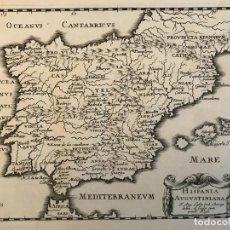 Arte: HISPANIA AUGUSTINIANA. MAPA DE PORTUGAL Y ESPAÑA, 1659. AUGUSTÍN LUBIN/PETRUS BAUDOUIN. Lote 233713835