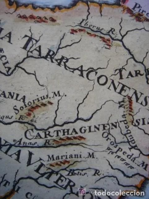 Arte: Mapa España, ORIGINAL, MALLET, siglo XVII - Foto 5 - 233759545