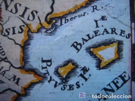 Arte: Mapa España, ORIGINAL, MALLET, siglo XVII - Foto 6 - 233759545