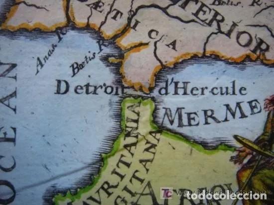 Arte: Mapa España, ORIGINAL, MALLET, siglo XVII - Foto 7 - 233759545
