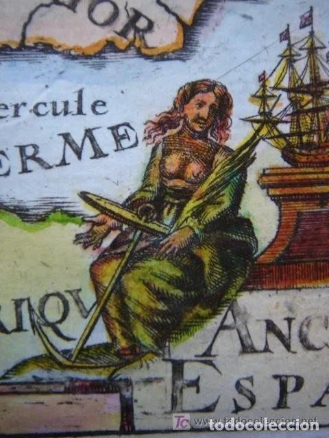 Arte: Mapa España, ORIGINAL, MALLET, siglo XVII - Foto 8 - 233759545