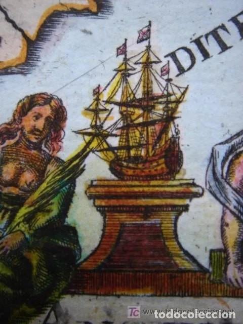 Arte: Mapa España, ORIGINAL, MALLET, siglo XVII - Foto 9 - 233759545