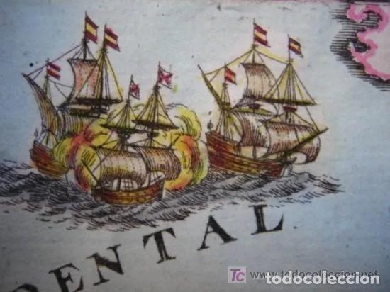 Arte: Mapa España, ORIGINAL, MALLET, siglo XVII - Foto 11 - 233759545