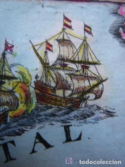 Arte: Mapa España, ORIGINAL, MALLET, siglo XVII - Foto 12 - 233759545