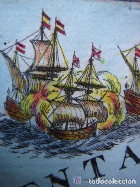 Arte: Mapa España, ORIGINAL, MALLET, siglo XVII - Foto 13 - 233759545