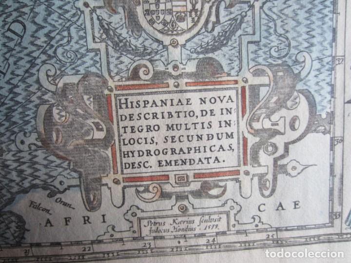 Arte: 1579-MAPA ORLADO ESPAÑA.VISTAS BARCELONA BILBAO SEVILLA MALAGA MADRID TOLEDO CÁDIZ.TRAJES REGIONES - Foto 16 - 233907835