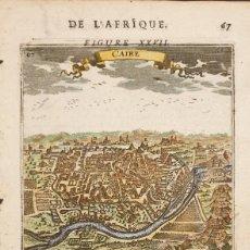 Arte: EL CAIRO - A.M. MALLET, 1683. Lote 235689100