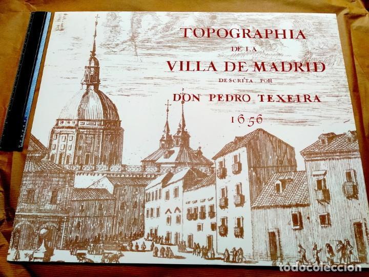 PLANO TEIXEIRA MADRID (1656) - EDICIÓN FACSÍMIL GIGANTE - 59 X 48 CMS POR PLANCHA (Arte - Cartografía Antigua (hasta S. XIX))