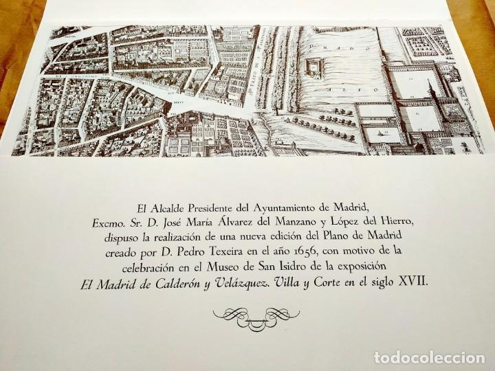 Arte: PLANO TEIXEIRA MADRID (1656) - EDICIÓN FACSÍMIL GIGANTE - 59 X 48 CMS POR PLANCHA - Foto 2 - 237712980