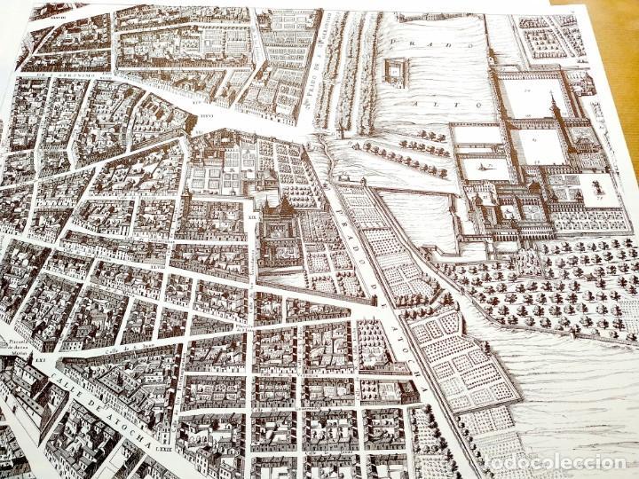 Arte: PLANO TEIXEIRA MADRID (1656) - EDICIÓN FACSÍMIL GIGANTE - 59 X 48 CMS POR PLANCHA - Foto 4 - 237712980