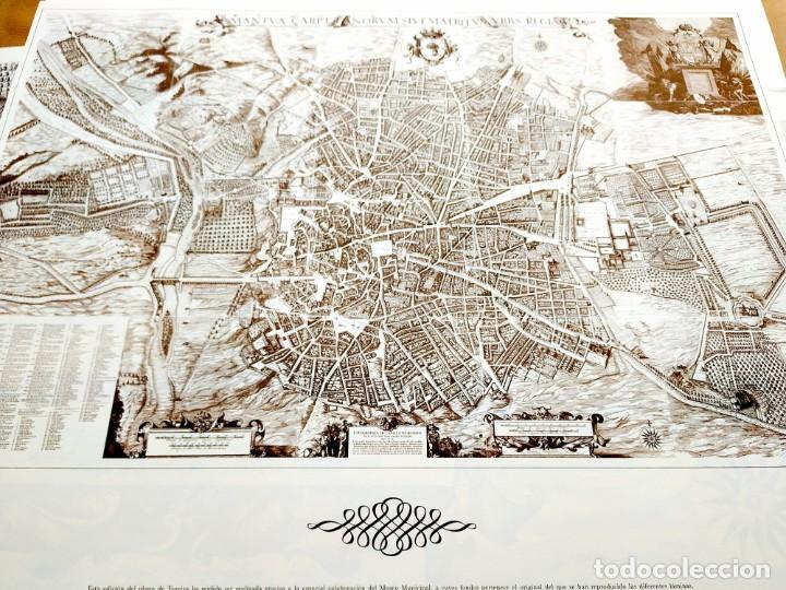 Arte: PLANO TEIXEIRA MADRID (1656) - EDICIÓN FACSÍMIL GIGANTE - 59 X 48 CMS POR PLANCHA - Foto 5 - 237712980