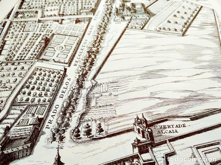 Arte: PLANO TEIXEIRA MADRID (1656) - EDICIÓN FACSÍMIL GIGANTE - 59 X 48 CMS POR PLANCHA - Foto 6 - 237712980