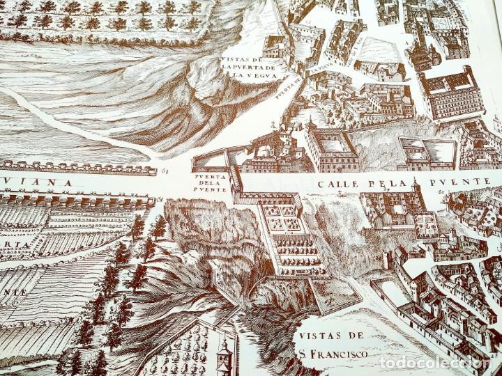 Arte: PLANO TEIXEIRA MADRID (1656) - EDICIÓN FACSÍMIL GIGANTE - 59 X 48 CMS POR PLANCHA - Foto 9 - 237712980
