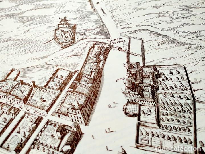 Arte: PLANO TEIXEIRA MADRID (1656) - EDICIÓN FACSÍMIL GIGANTE - 59 X 48 CMS POR PLANCHA - Foto 10 - 237712980
