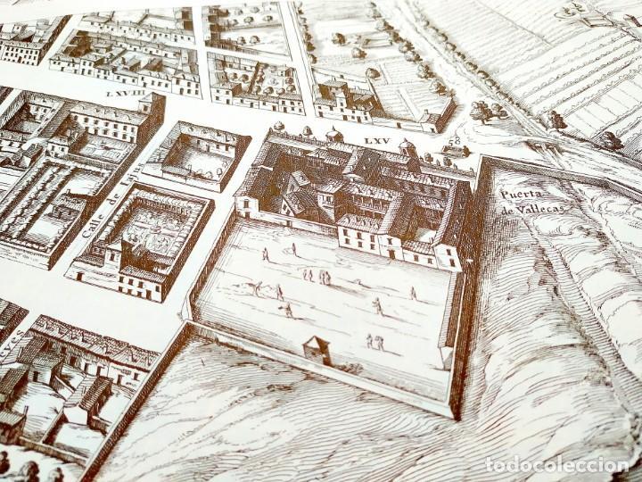Arte: PLANO TEIXEIRA MADRID (1656) - EDICIÓN FACSÍMIL GIGANTE - 59 X 48 CMS POR PLANCHA - Foto 11 - 237712980