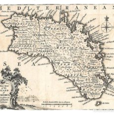 Arte: MAPA DE MENORCA DEL SIGLO XVIII. Lote 262182755