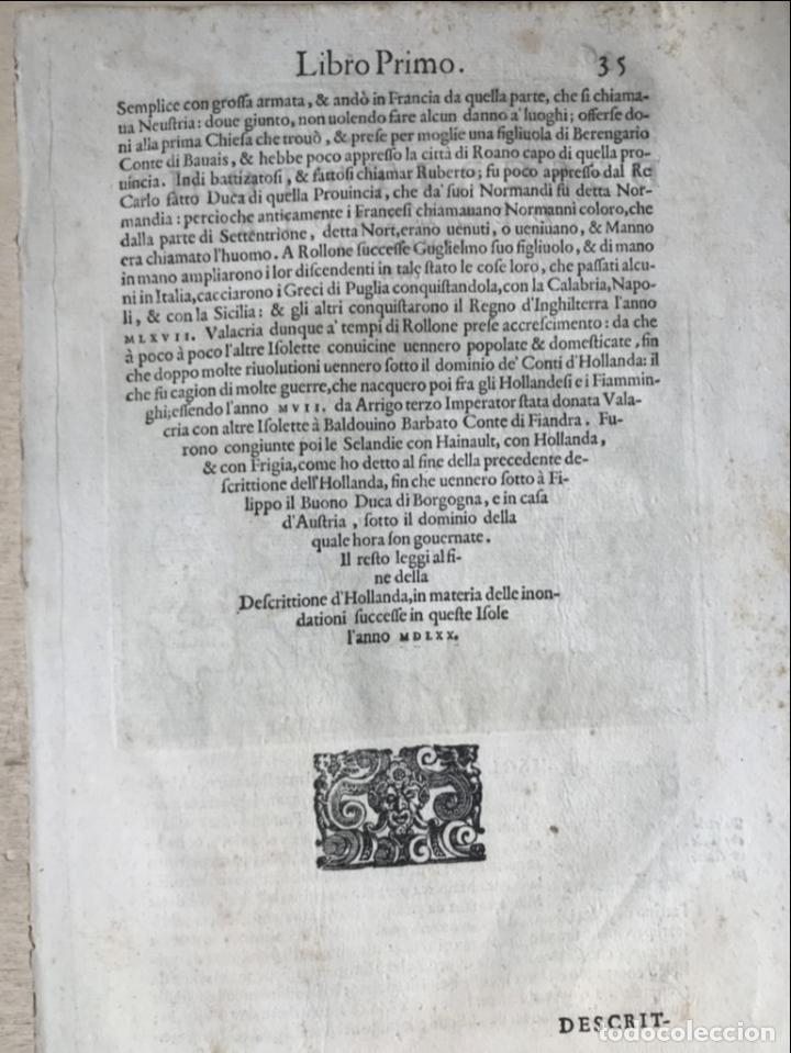 Arte: Mapa de la isla de Mallorca (Baleares, España), 1590. Tommaso Porcacchi - Foto 12 - 242062360