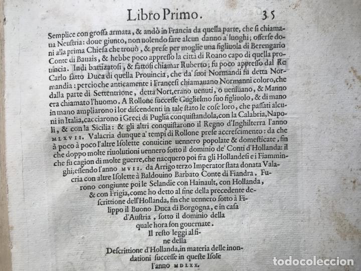 Arte: Mapa de la isla de Mallorca (Baleares, España), 1590. Tommaso Porcacchi - Foto 13 - 242062360