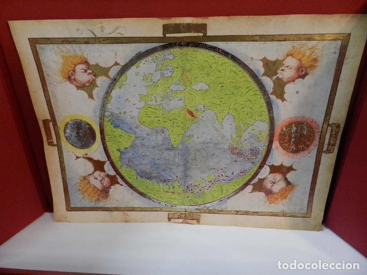 Arte: ATLAS MILLER BIBLIOTHÈQUE NATIONALE DE FRANCE FACSIMIL EDITORIAL MOLEIRO LIBRO ESTUDIOS Y EMBALAJES - Foto 2 - 243607240