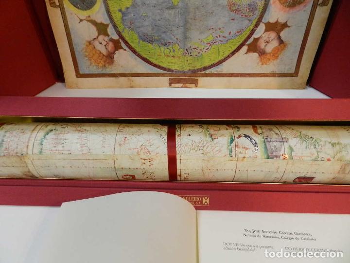 Arte: ATLAS MILLER BIBLIOTHÈQUE NATIONALE DE FRANCE FACSIMIL EDITORIAL MOLEIRO LIBRO ESTUDIOS Y EMBALAJES - Foto 3 - 243607240