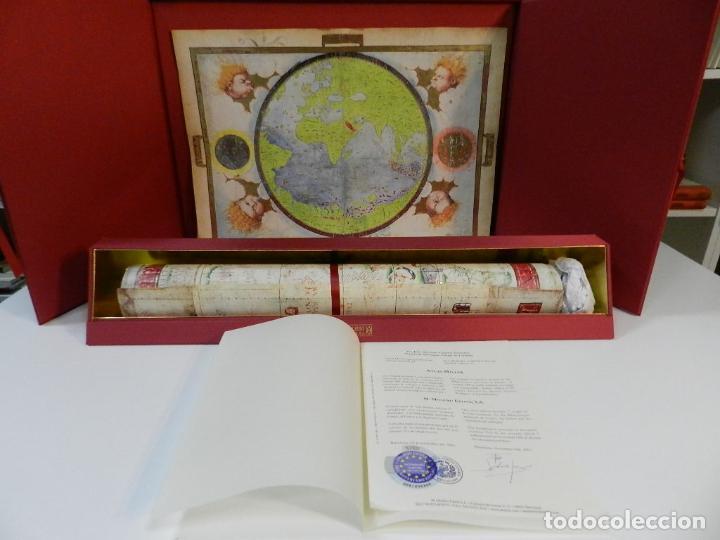 ATLAS MILLER BIBLIOTHÈQUE NATIONALE DE FRANCE FACSIMIL EDITORIAL MOLEIRO LIBRO ESTUDIOS Y EMBALAJES (Arte - Cartografía Antigua (hasta S. XIX))