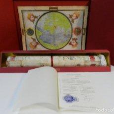 Arte: ATLAS MILLER BIBLIOTHÈQUE NATIONALE DE FRANCE FACSIMIL EDITORIAL MOLEIRO LIBRO ESTUDIOS Y EMBALAJES. Lote 243607240