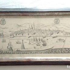 Arte: NOUVVELLE DESCRIPTION DE LA FAMEVSE VILLE DE BARCELONE CAPPITALLE DE LA PROVINCE DE CATALOGNE. Lote 246626345