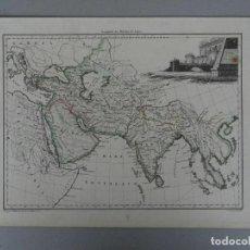 Arte: MAPA DE ASIA ANTIGUA, 1812. GIRALDON/CHAMOIN. Lote 247108430