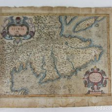 Arte: MAPA DE ISTRIA OLIM LAPIDIA - VENECIA 1620. Lote 247165930