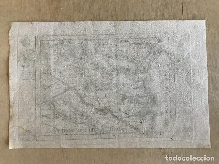 Arte: Mapa a color del sur de Pontevedra, batalla de Rande -Vigo (Galicia, España), 1715. Bodenehr - Foto 8 - 248693820