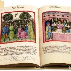 Arte: TACUINUM SANITATIS FACSIMIL EDITORIAL MOLEIRO - NUEVO A ESTRENAR EN CAJA - INCLUYE LIBRO ESTUDIOS. Lote 253328200