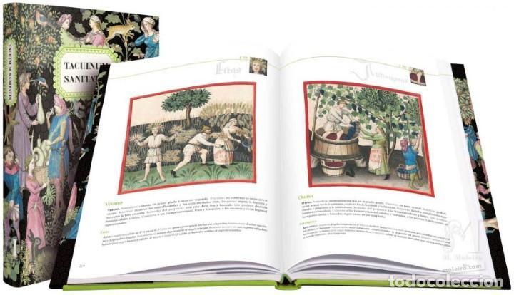Arte: TACUINUM SANITATIS FACSIMIL EDITORIAL MOLEIRO - NUEVO A ESTRENAR EN CAJA - INCLUYE LIBRO ESTUDIOS - Foto 2 - 253328200