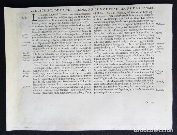 Arte: Peru, Ecuador, Bolivia, mapa por Janssonius, 1676, Peru - Foto 5 - 253777690