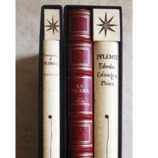 Arte: ATLAS MAPA- PTOLOMEO : COSMOGRAFIA. BARCELONA: EBRISA-PLANETA 3 VOLUMENES , ESTUDIOS - ESTUCHES. Lote 254025055